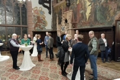 Die Gäste im Rathausfestsaal.