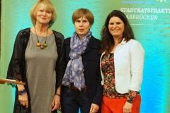 Karin Burkart, Luise Klein, Tina Schöpfer.