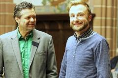 Torsten Reif und Patrick Ginsbach.