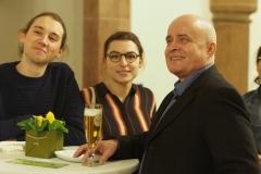 Johannes Klein, Klara Sendelbach, Thomas Brass.
